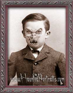 Benjamin - The Newest Haunted Portrait